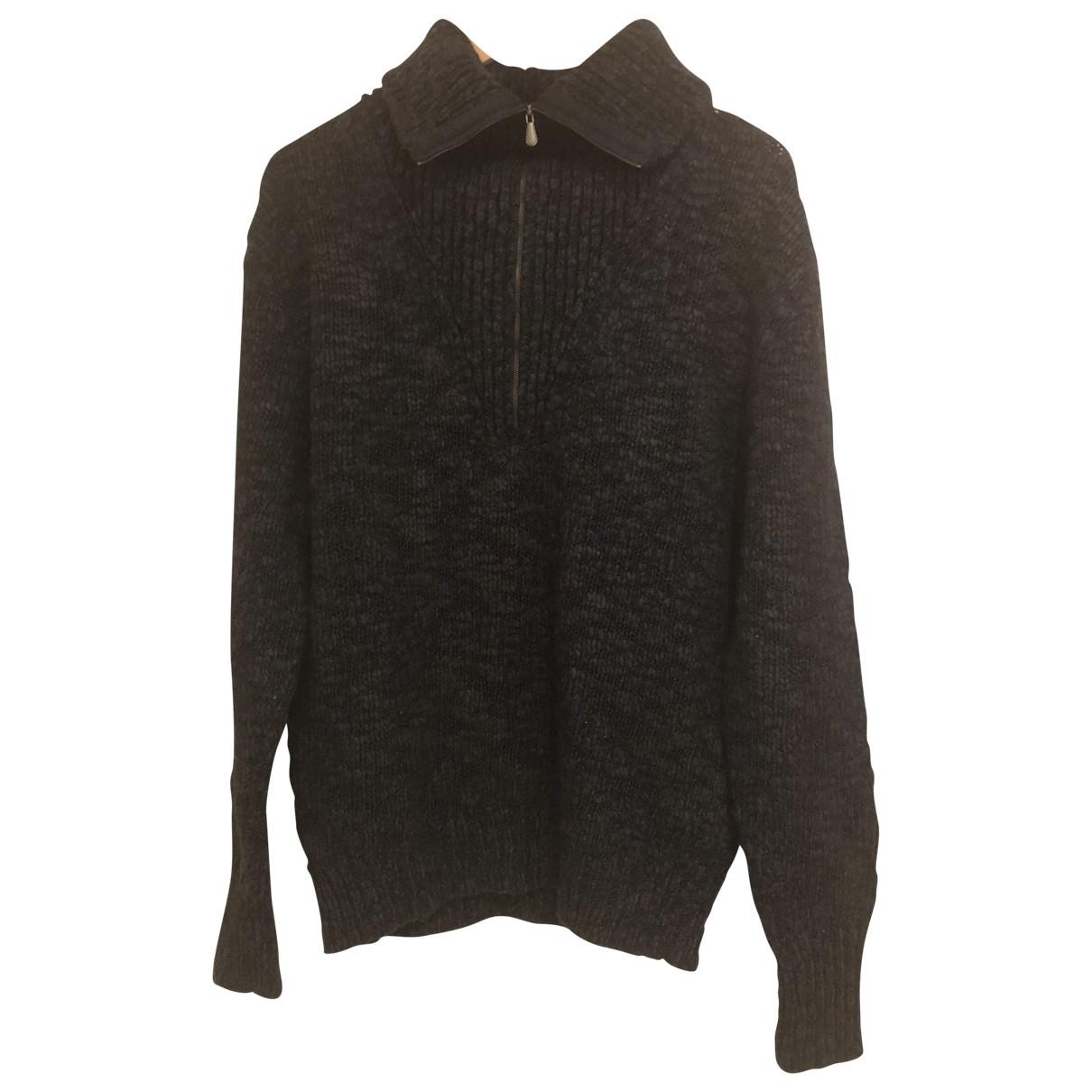 Bottega Veneta N Blue Wool Knitwear & Sweatshirts for Men 48 IT