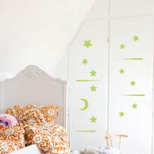 1 Set Wandaufkleber mit Stern Design