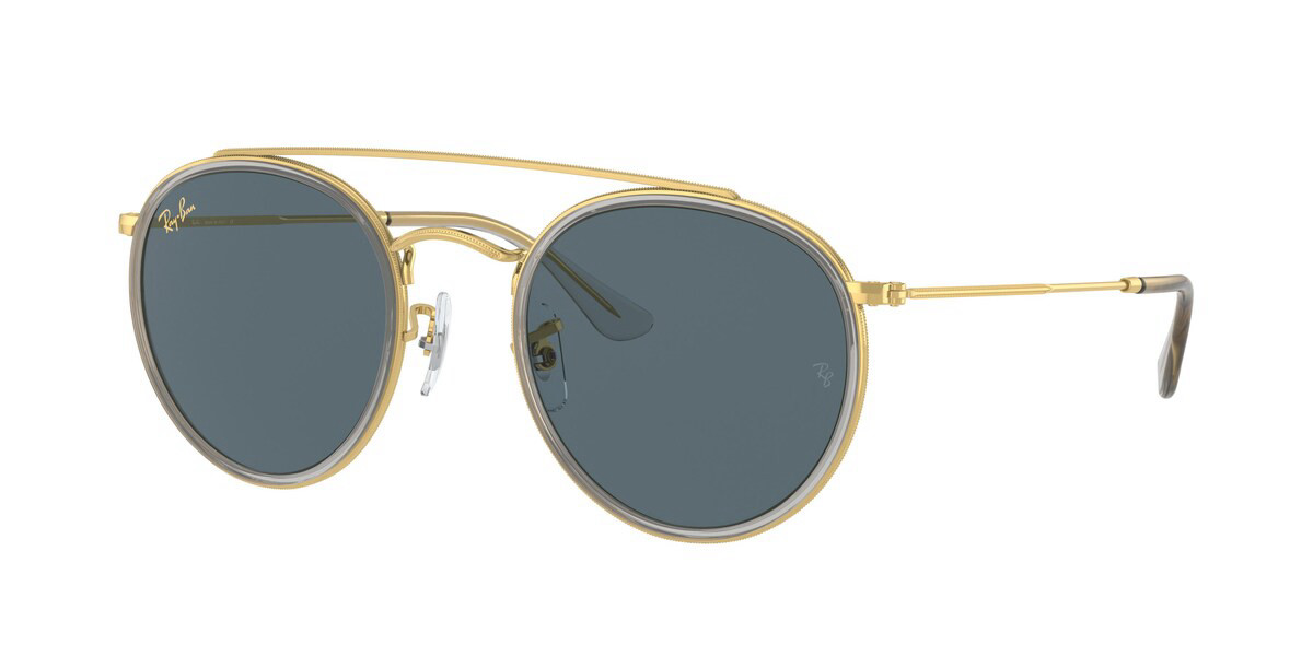 Ray-Ban RB3647N 9210R5 Men's Sunglasses Gold Size 51