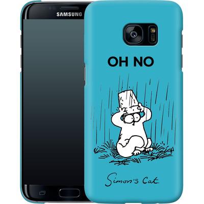 Samsung Galaxy S7 Edge Smartphone Huelle - Oh No von Simons Cat