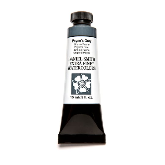 Daniel Smith Extra Fine™ Watercolor, 15 ml Paint in Payne's Gray | Michaels®