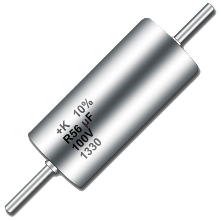 KEMET Tantalum Capacitor 100μF 10V dc MnO2 Solid ±10% Tolerance , T110 (10)