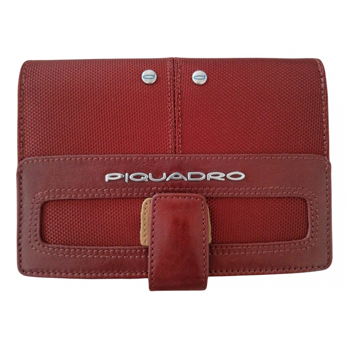Piquadro \N Burgundy Leather Purses, wallet & cases for Women \N