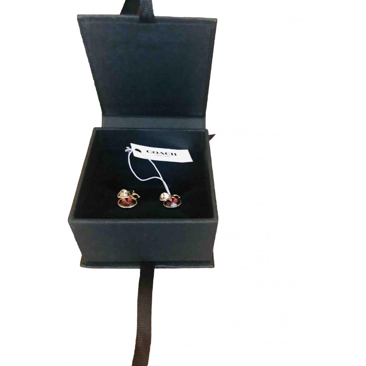 Coach - Boucles doreilles   pour femme en argent - multicolore