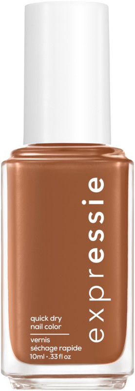 Expressie Quick-Dry Nail Polish - Cold Brew Crew (warm mid tone brown)