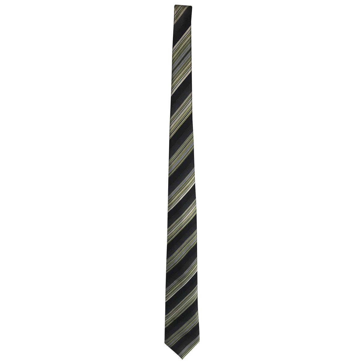 Brioni - Cravates   pour homme en soie - vert