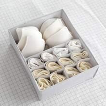 1pc 13 Grid Underwear Storage Box