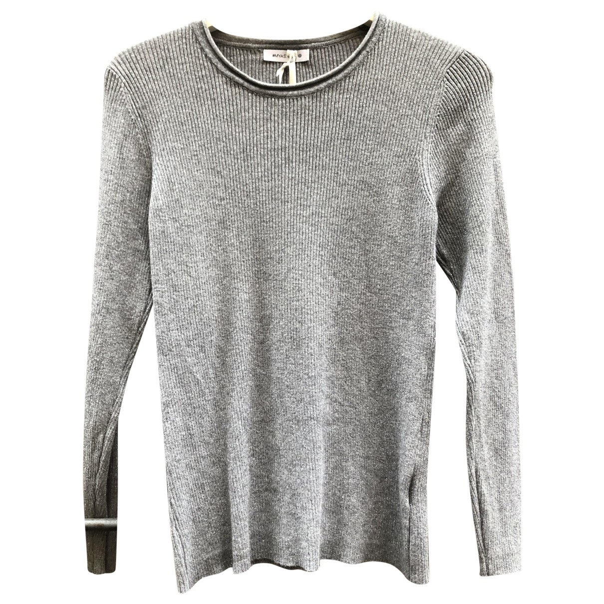 Non Signé / Unsigned \N Silver Knitwear for Women One Size IT