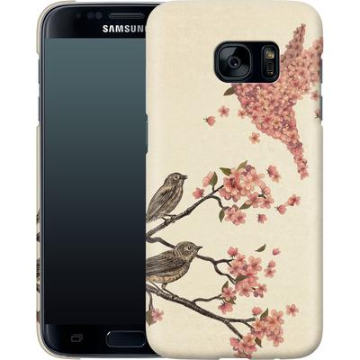 Samsung Galaxy S7 Smartphone Huelle - Blossom Bird von Terry Fan