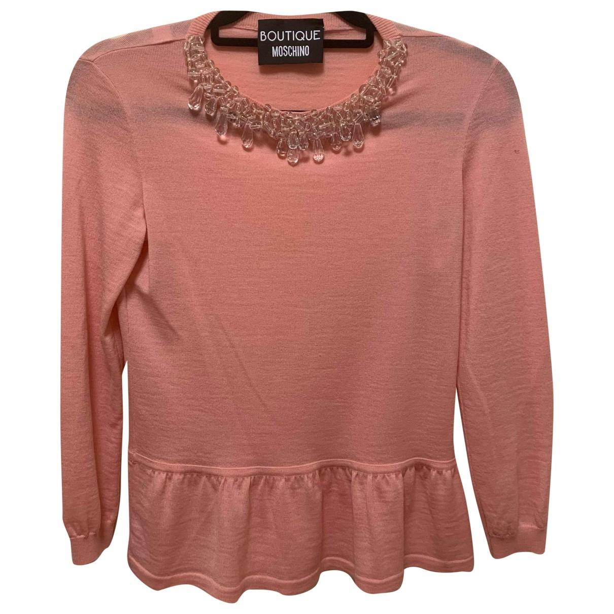 Moschino \N Pink Cotton Knitwear for Women 8 UK