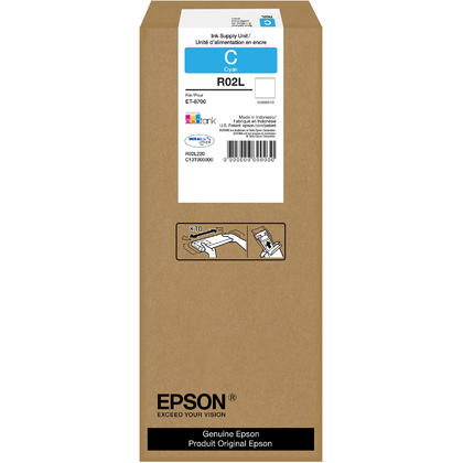 Epson R02L R02L220 Original Durabrite Ultra Cyan Ink Pack