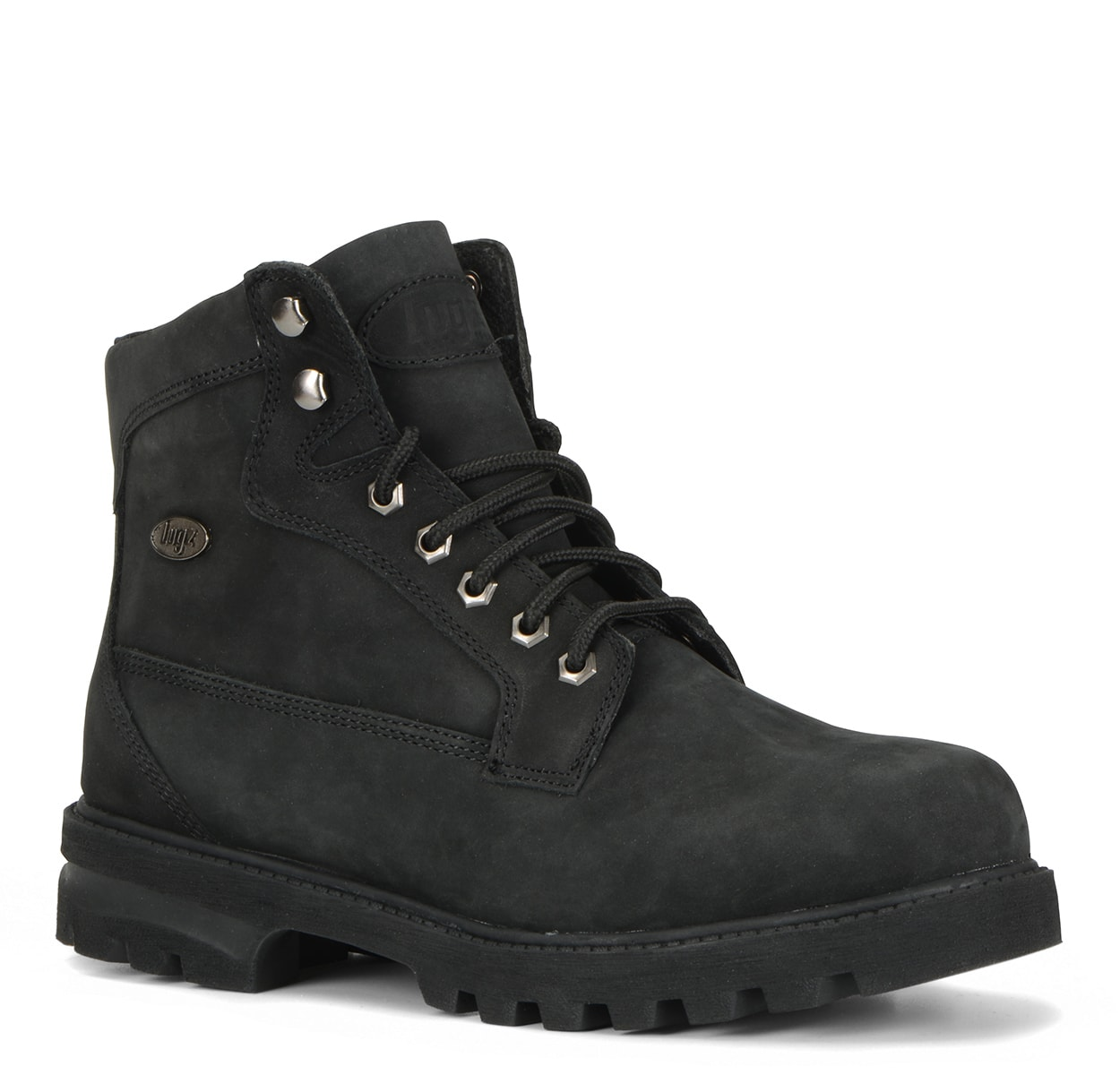 Men's Brigade Hi 6-Inch Boot (Choose Your Color: BLACK, Choose Your Size: 7.5)