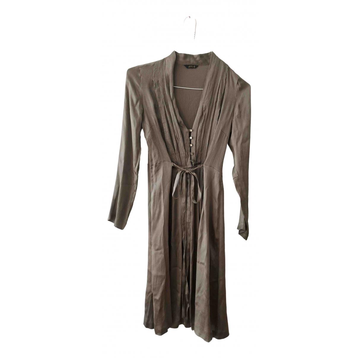 Mauro Grifoni - Robe   pour femme en soie - metallise