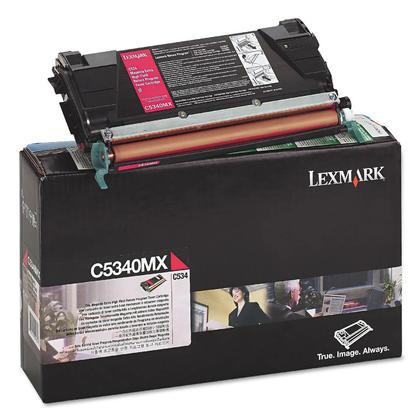 Lexmark C5340MX cartouche de toner du programme retour originale magenta extra haute capacité