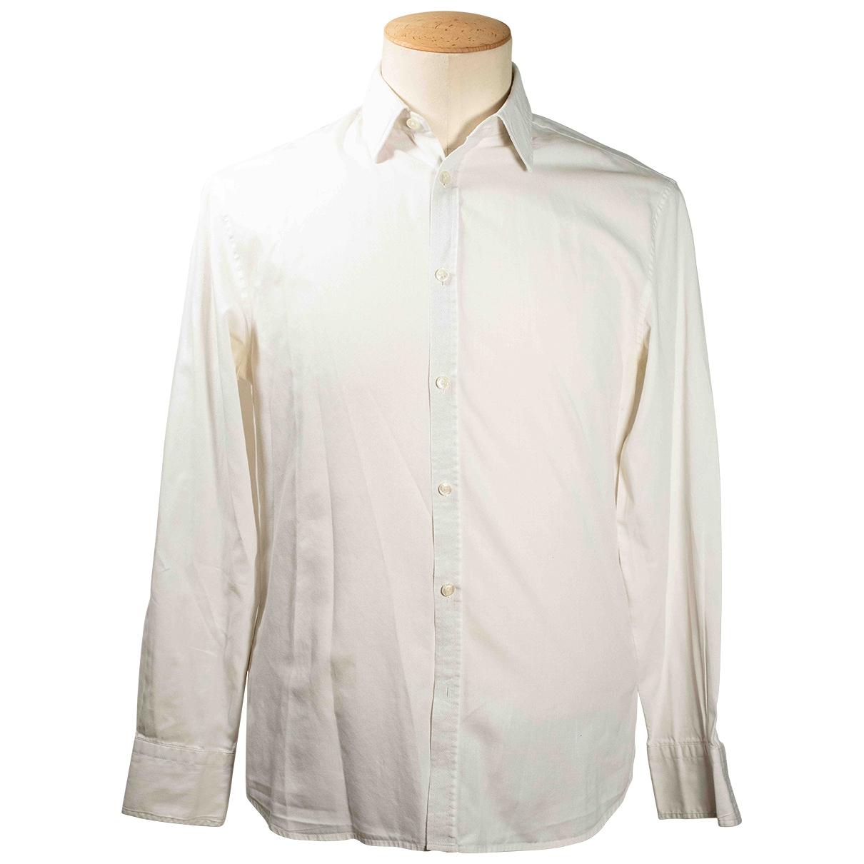 Kenzo - Chemises   pour homme en coton - blanc