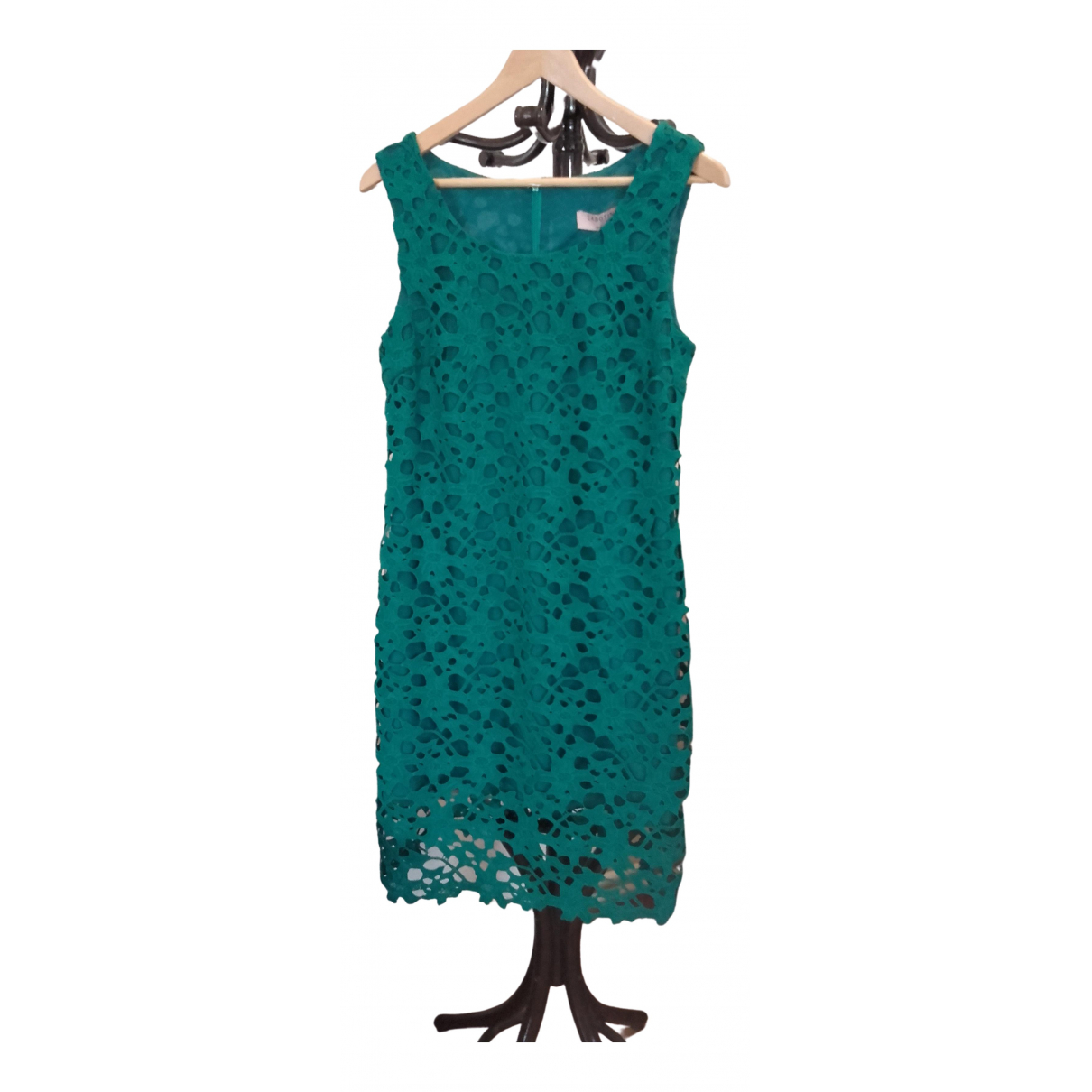 Non Signé / Unsigned \N Green Cotton dress for Women 38 FR