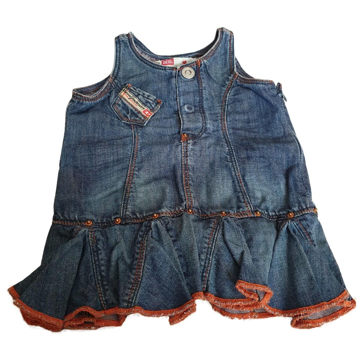 Diesel \N Kleid in  Blau Denim - Jeans