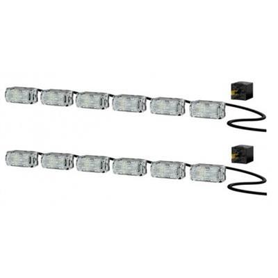 Hella LED Day II Flex Running Light Kit - 980789861
