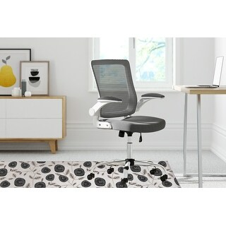 AVA Office Mat By Kavka Designs (Black, Taupe)