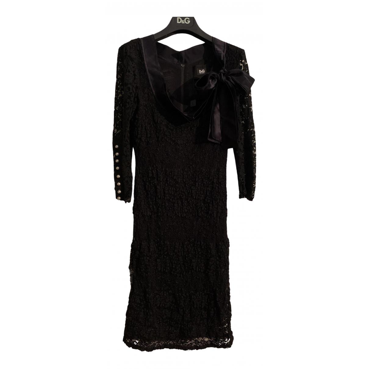Vestido de Seda D&g