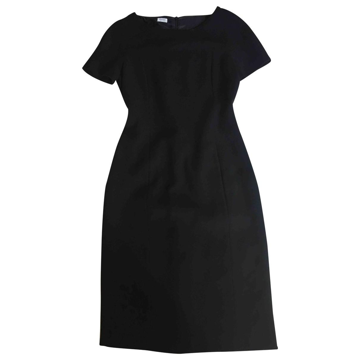 Agnona - Robe   pour femme en laine - noir