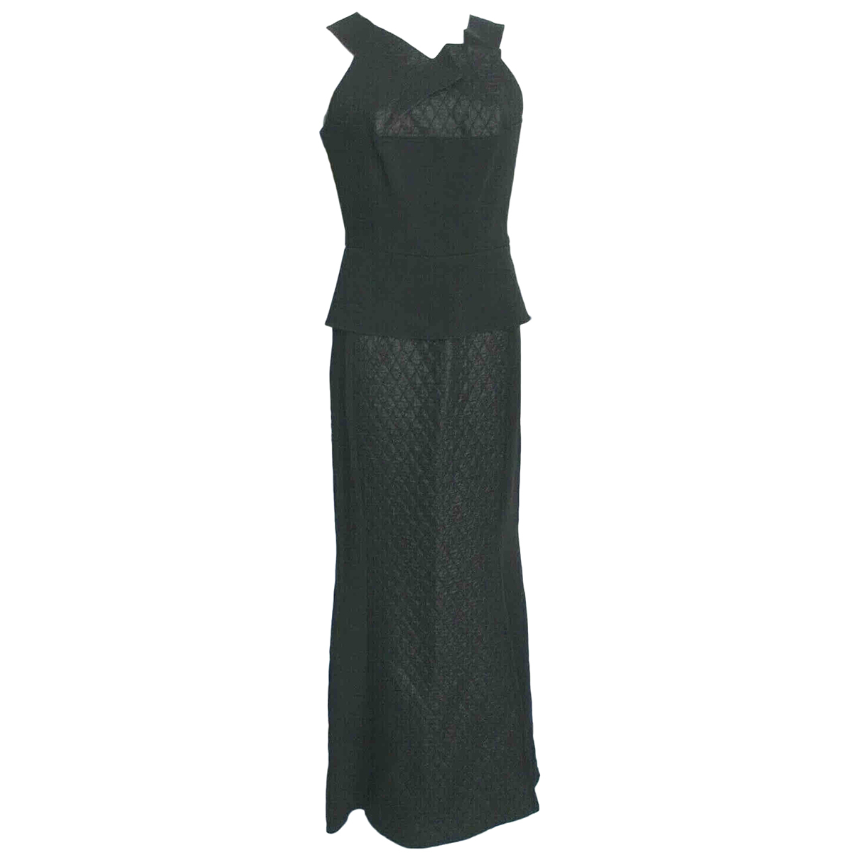 Roland Mouret \N Kleid in  Schwarz Viskose