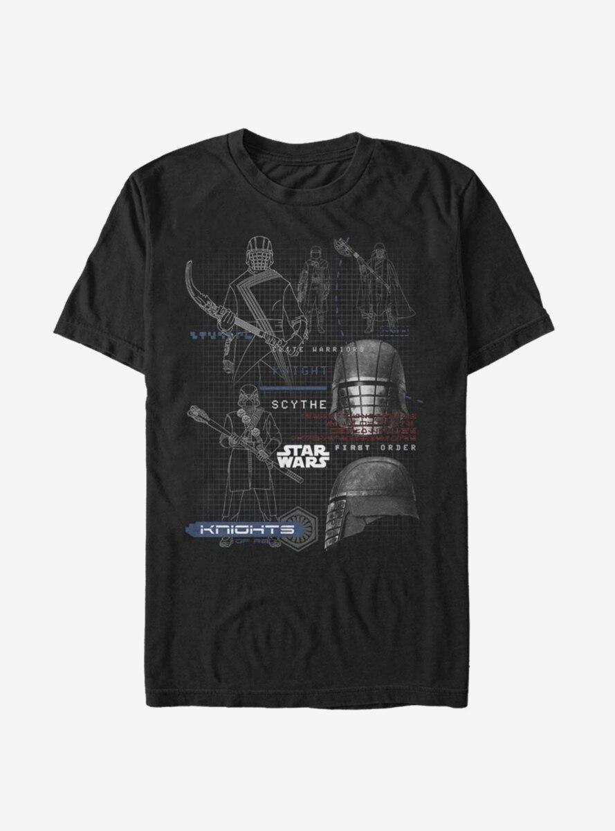 Star Wars Episode IX The Rise Of Skywalker Ren Specs T-Shirt