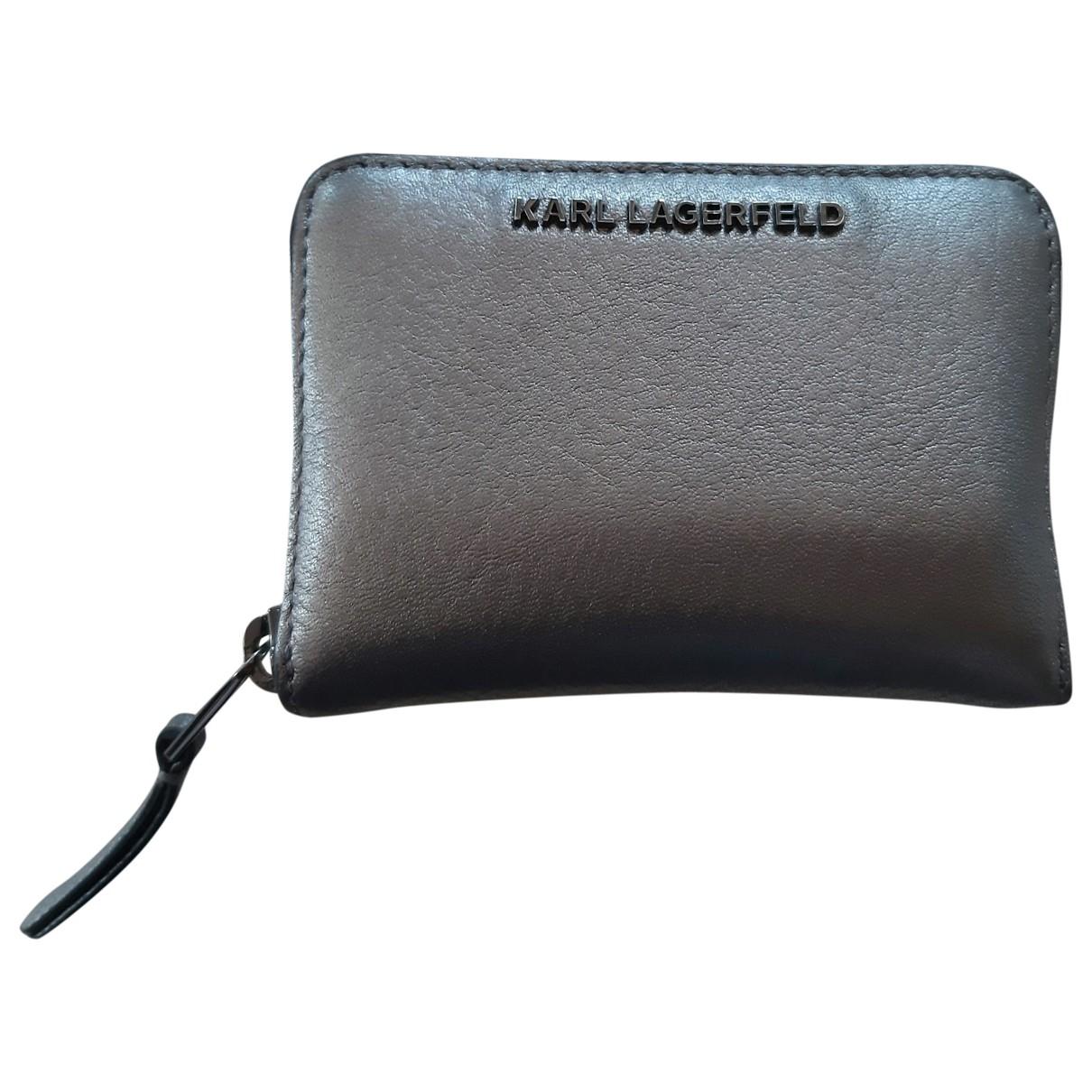 Cartera de Cuero Karl Lagerfeld