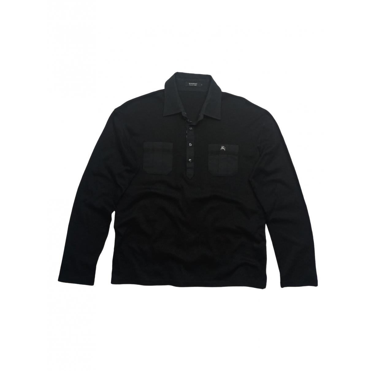Burberry \N Black Cotton Polo shirts for Men 3 0 - 6