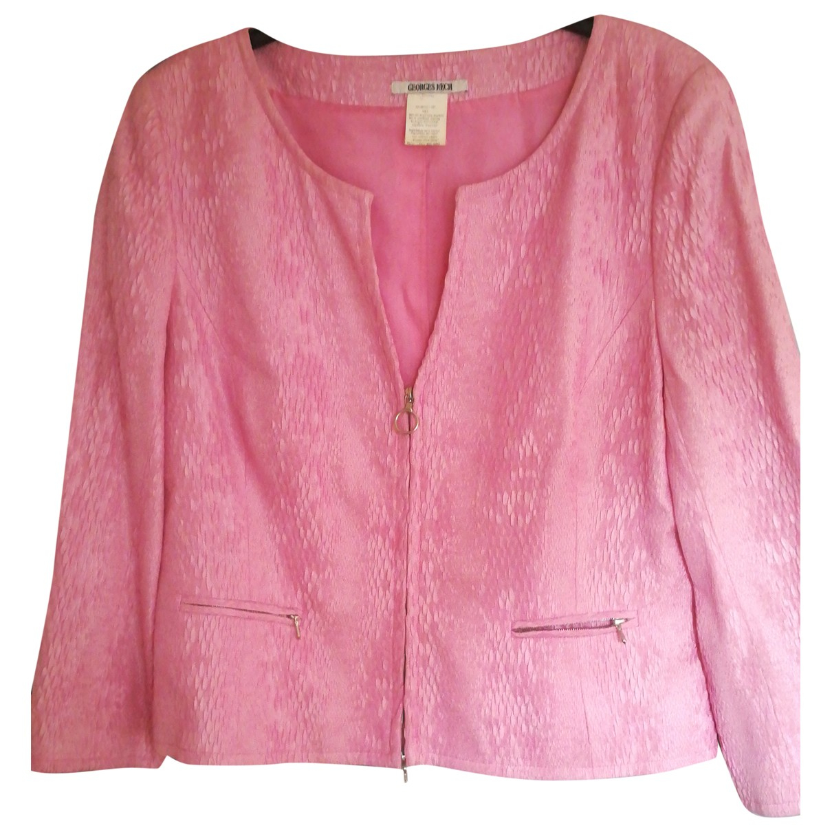 Georges Rech \N Pink jacket for Women 42 FR