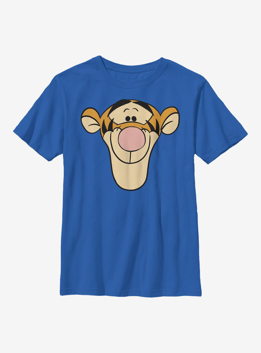 Disney Winnie The Pooh Tigger Big Face Youth T-Shirt