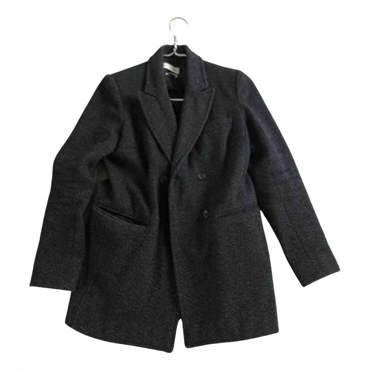 Isabel Marant N Anthracite Wool coat for Women S International