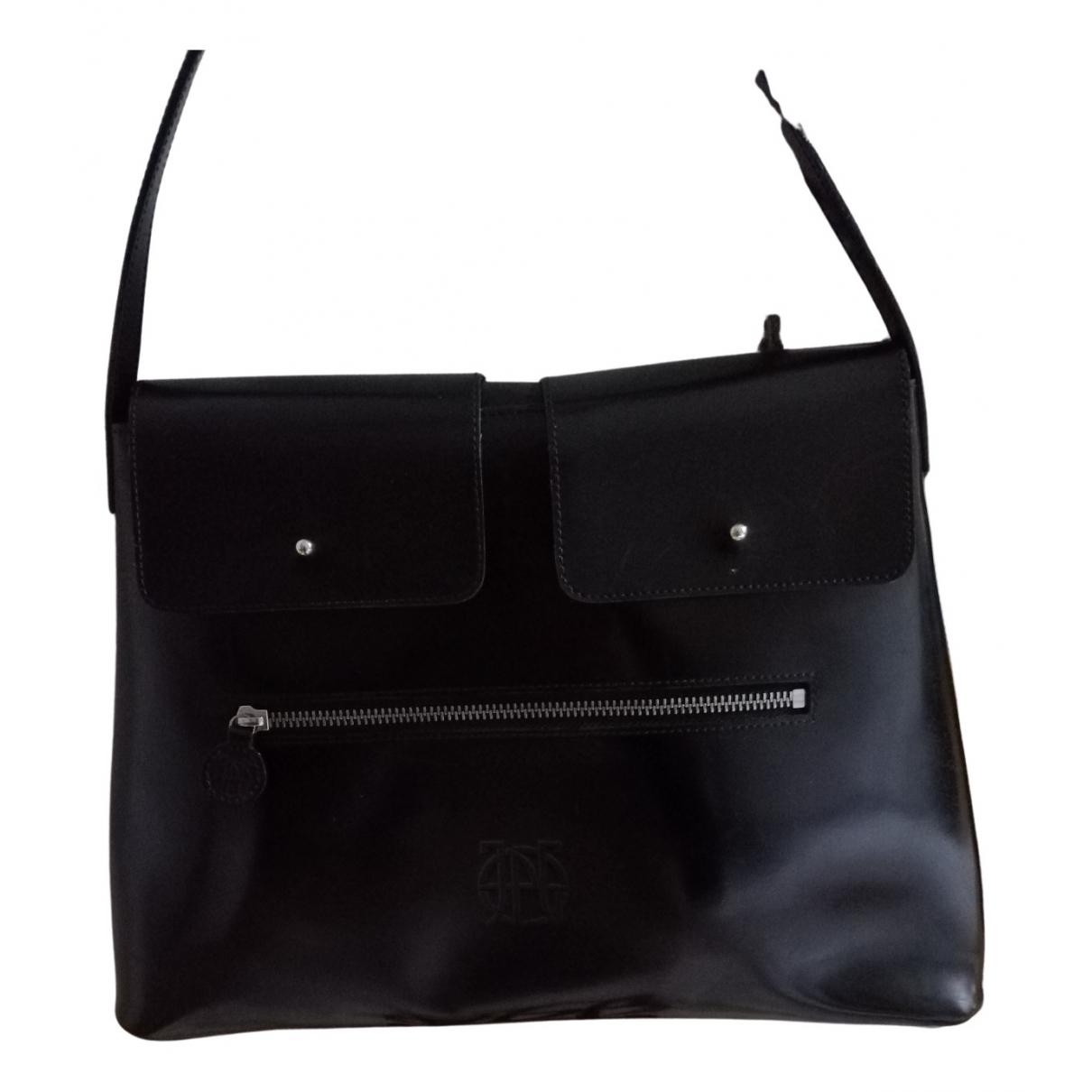 Jean Paul Gaultier \N Handtasche in  Schwarz Leder