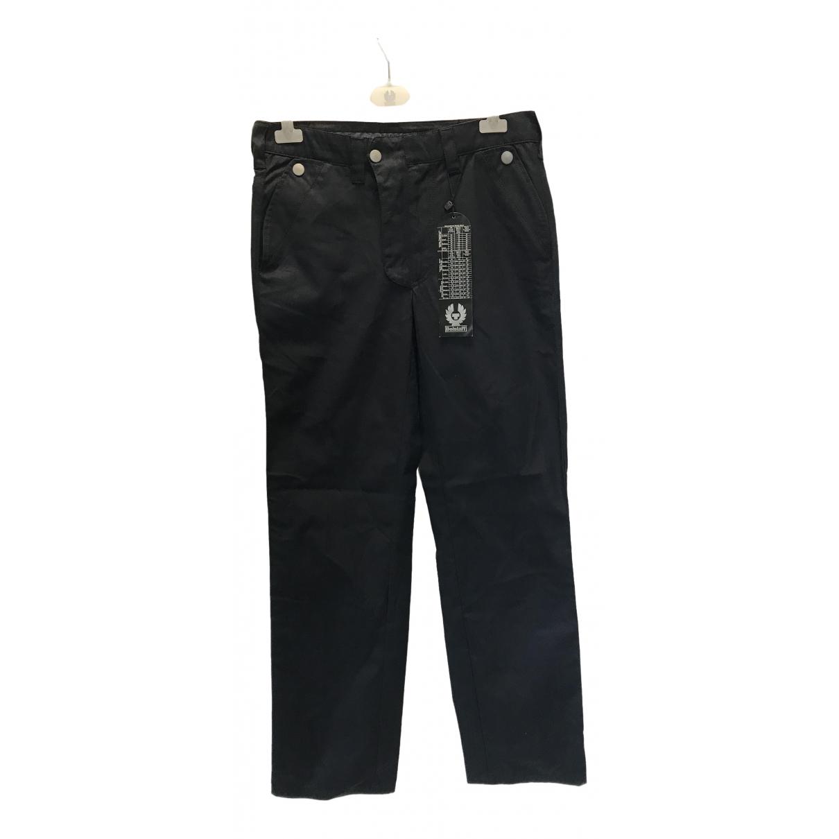 Pantalones en Algodon Marino Belstaff