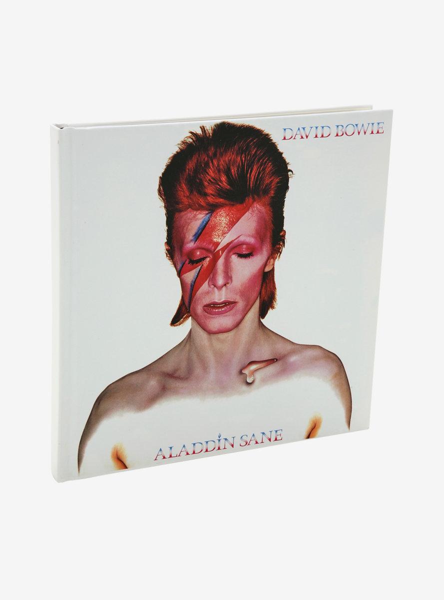 David Bowie Aladdin Sane Album Cover Journal