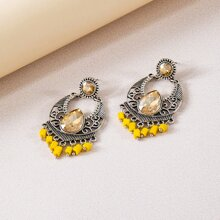 Vintage Hollow Out Drop Earrings