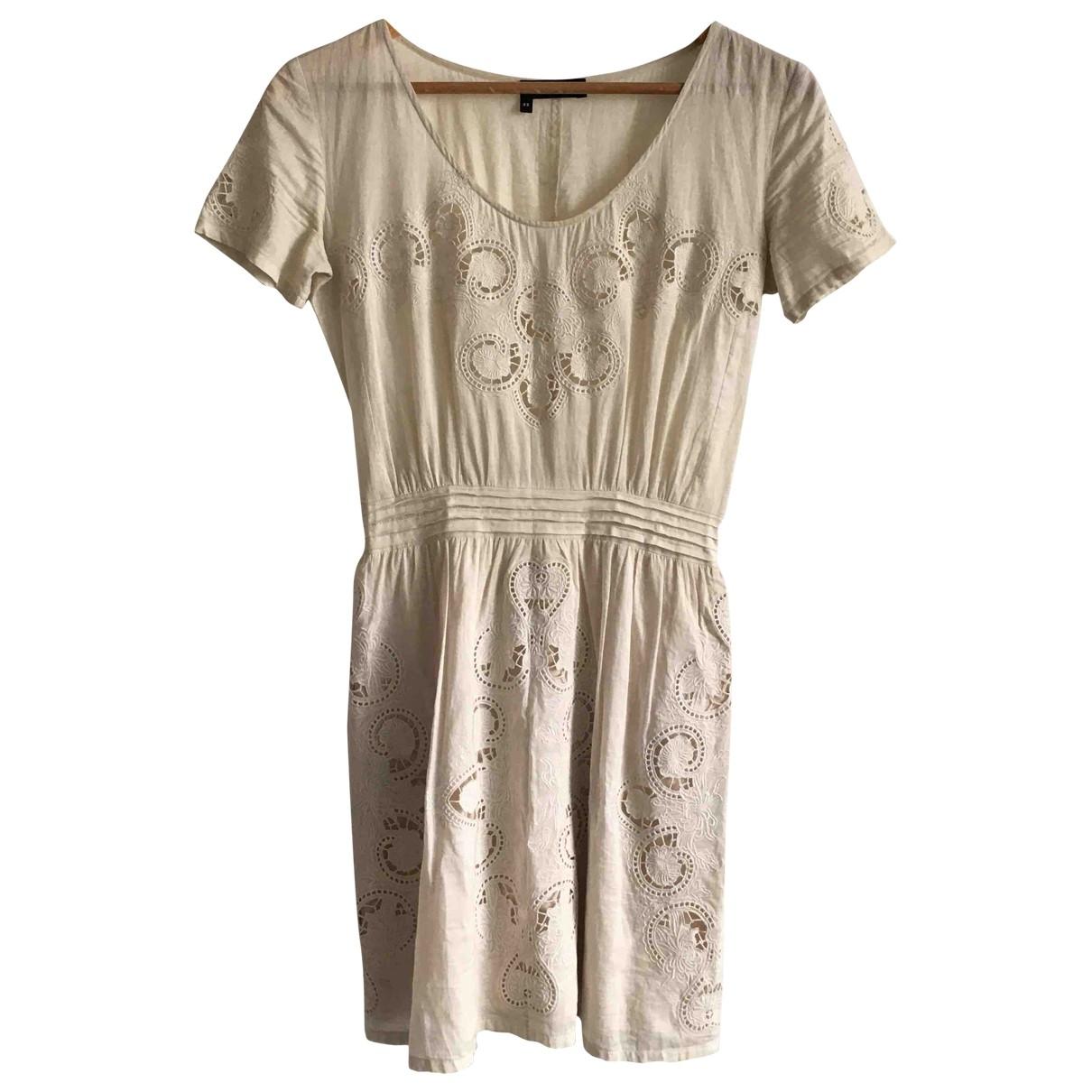 The Kooples \N Kleid in  Beige Baumwolle