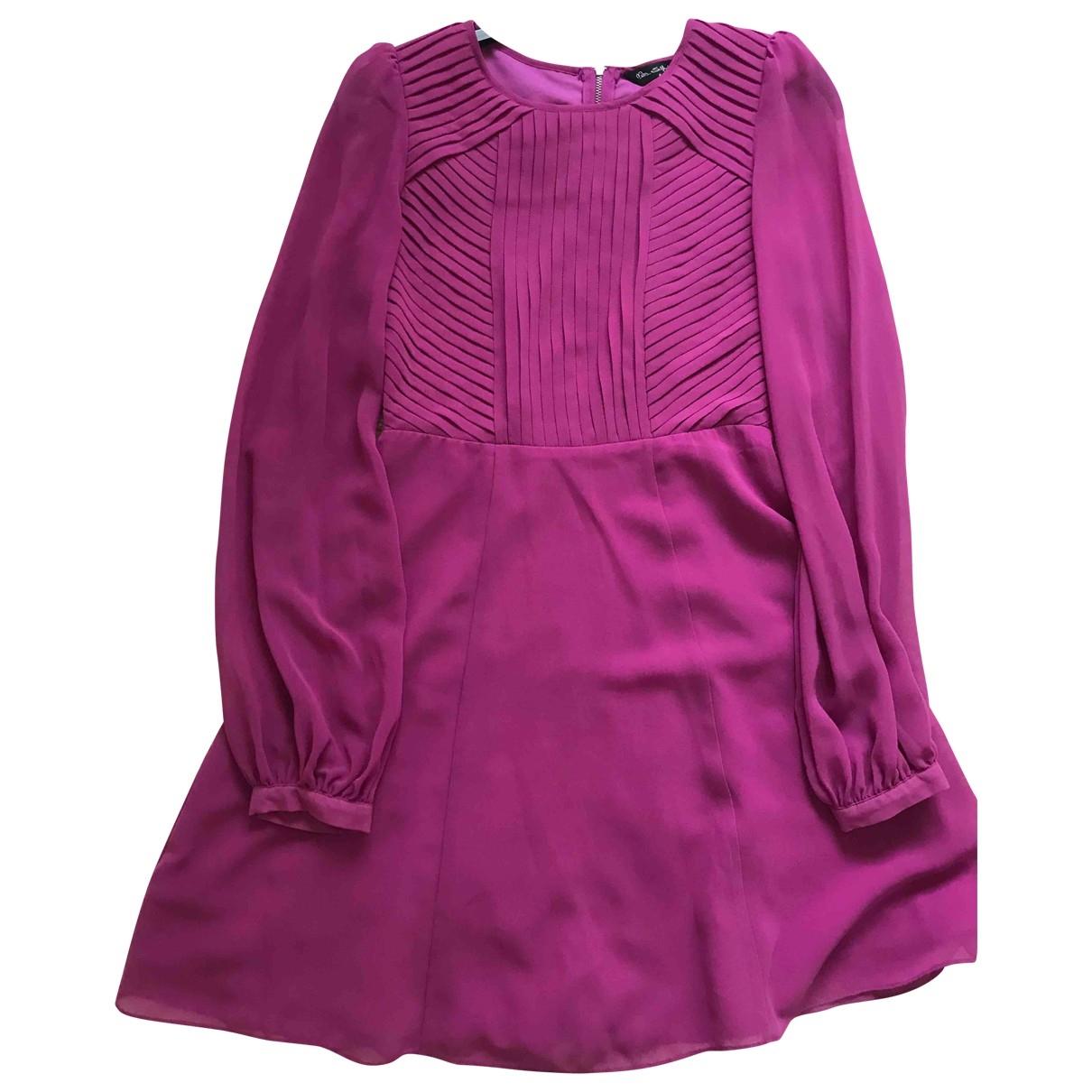 Miss Selfridge \N Kleid in  Lila Polyester