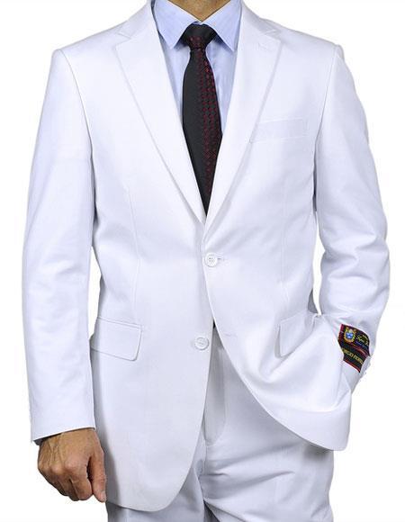 Men's Classic Single Breasted Notch Lapel Giorgio Fiorelli Brand suits