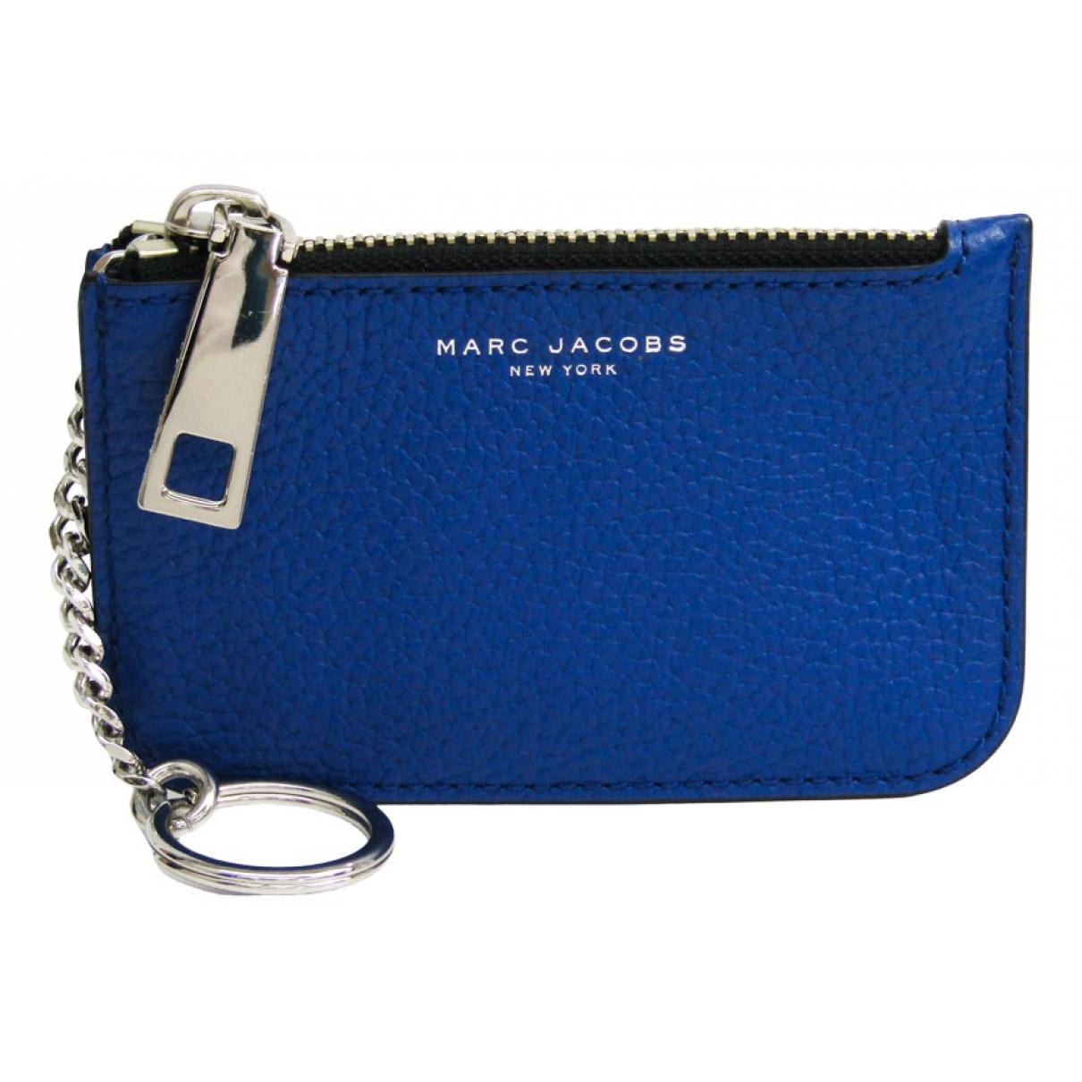 Marc Jacobs \N Kleinlederwaren in  Blau Leder