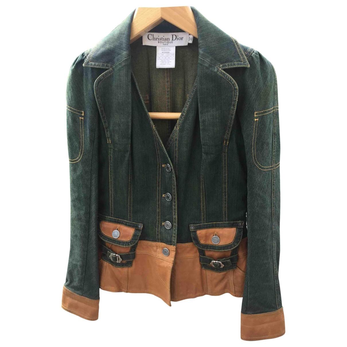 Dior \N Camel Denim - Jeans jacket for Women 38 FR