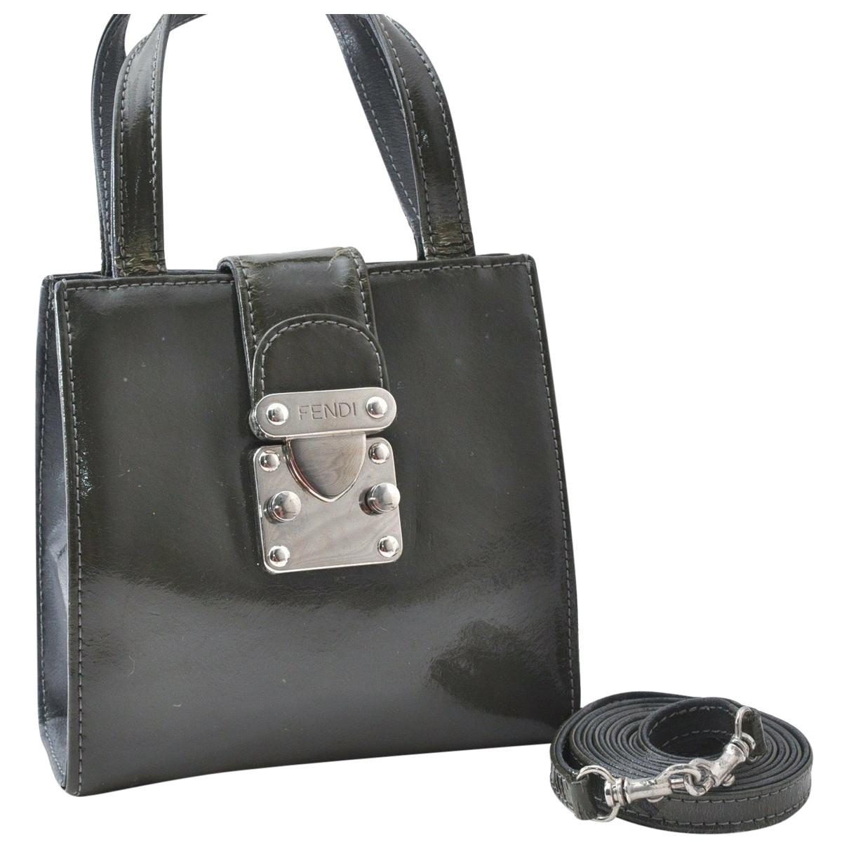 Fendi N Khaki Leather handbag for Women N