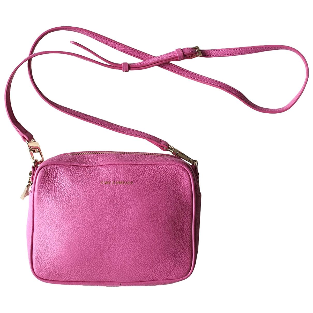 Coccinelle \N Handtasche in  Rosa Leder