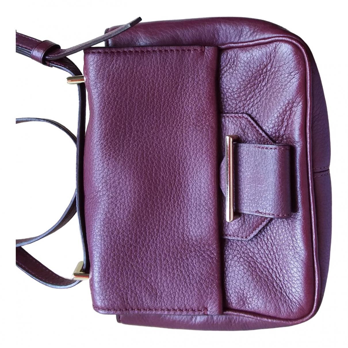 Reed Krakoff \N Handtasche in  Bordeauxrot Leder