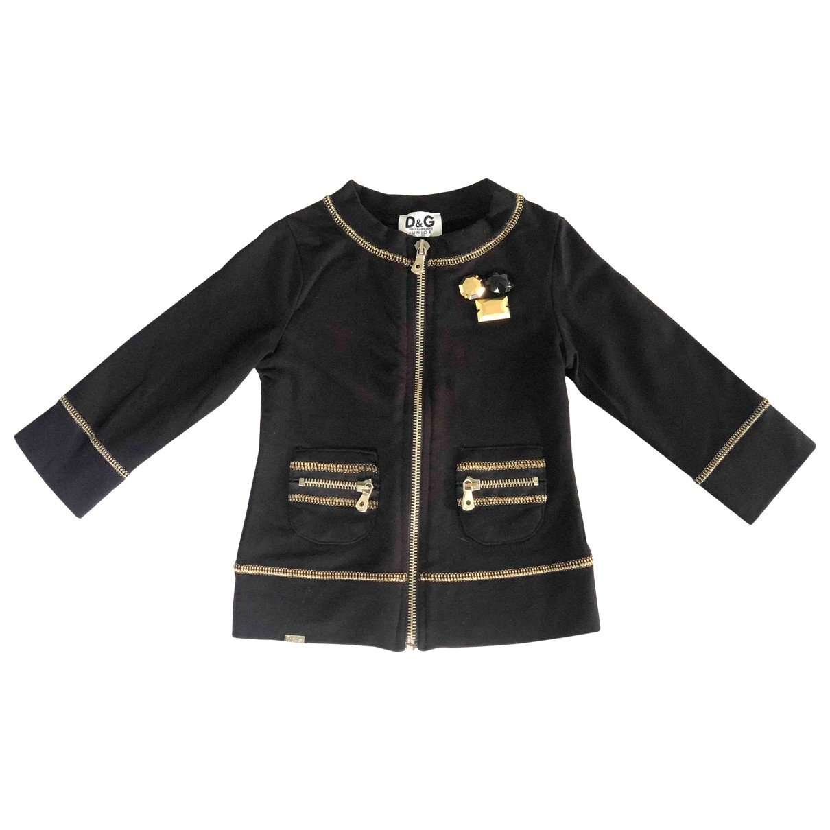 D&g \N Blue Cotton jacket & coat for Kids 2 years - up to 86cm FR