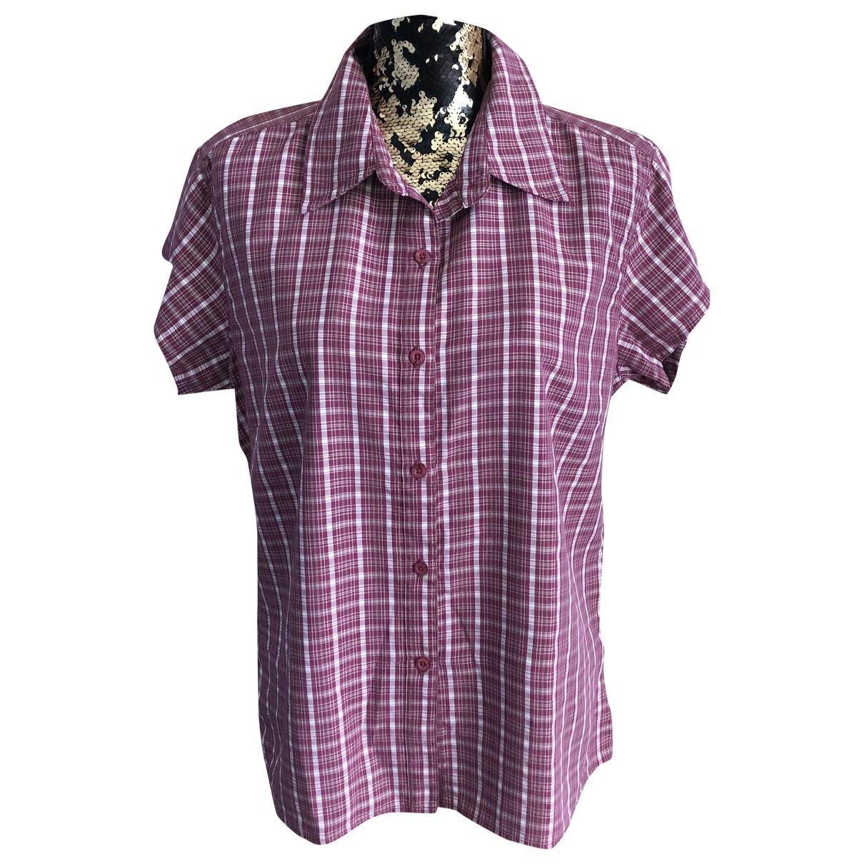 The North Face - Top   pour femme en coton - rose