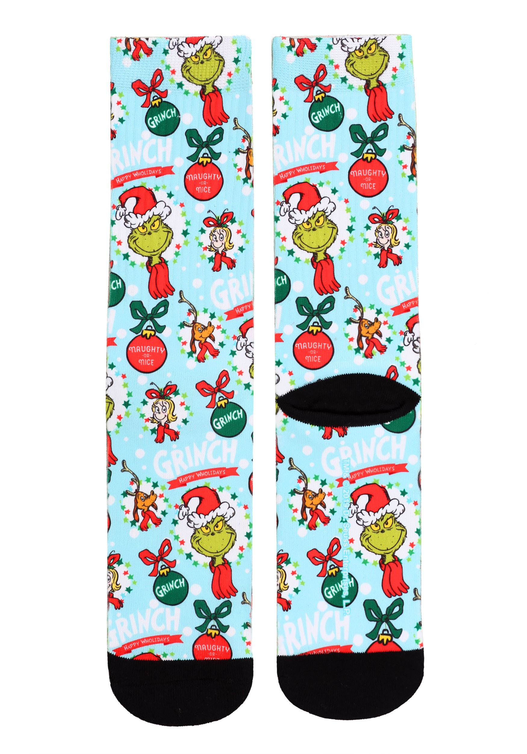 The Grinch All-Over-Print Sublimated Socks for Adults