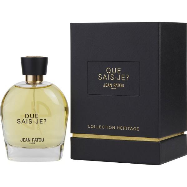Que Sais-je - Jean Patou Eau de Parfum Spray 100 ml