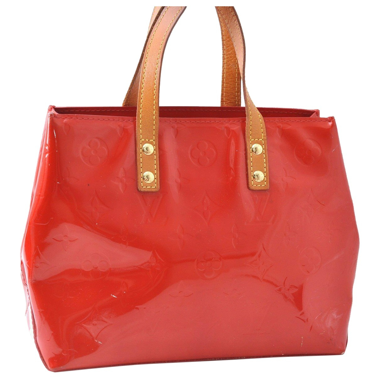 Louis Vuitton N Red Patent leather handbag for Women N