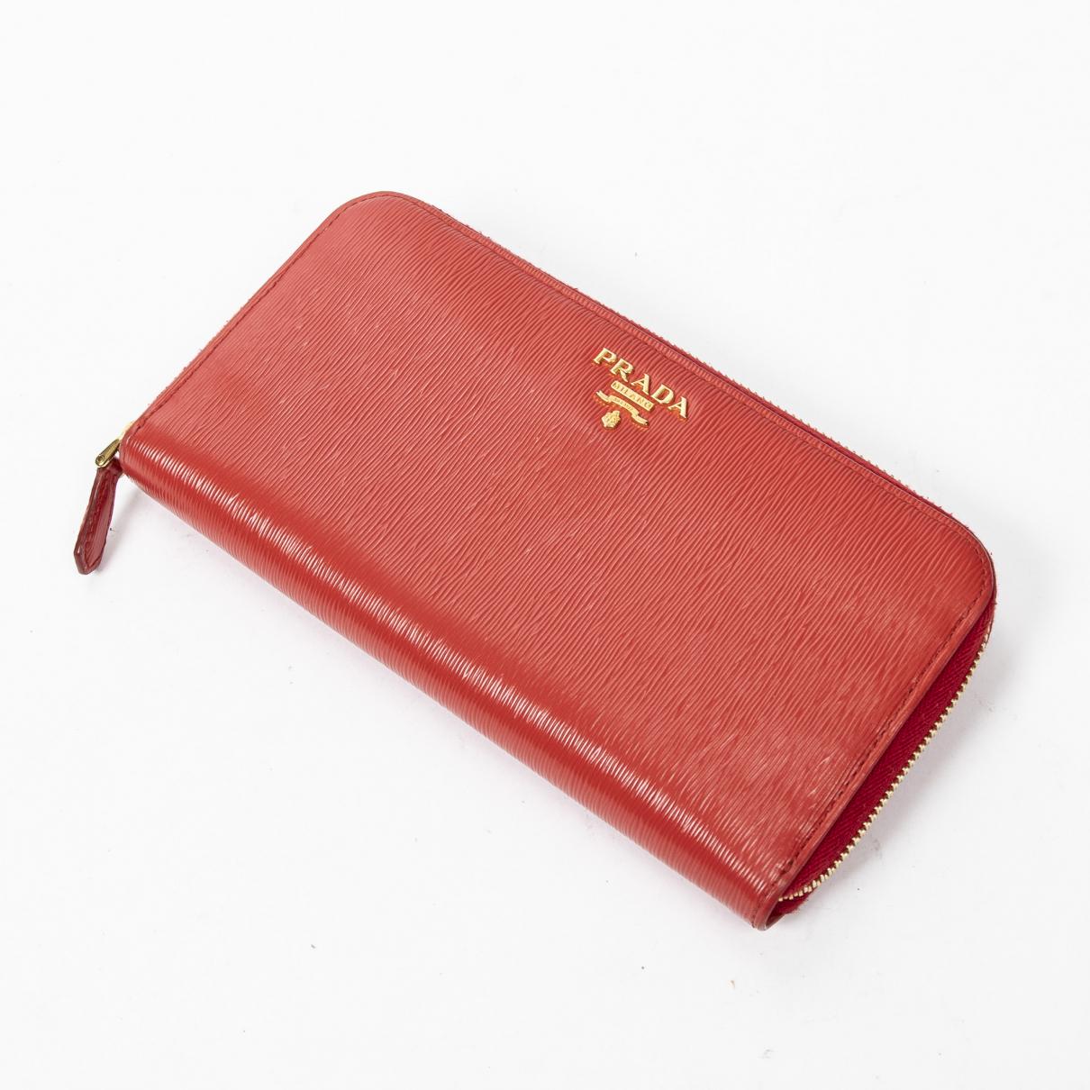 Prada \N Red wallet for Women \N